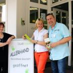Bei einem Besuch beim Sozialverein Café Arbeit in Alzenau informierte sich die Aschaffenburger Landtagsabgeordnete Martina Fehlner bei Doerthe Dierken und Sven Rosenberger über die verdienstvolle Arbeit des Vereins