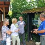 Bei einem Besuch in der LBV-Umweltstation Kleinostheim informierte sich Martina Fehlner bei den Vorsitzenden der Kreisgruppe Aschaffenburg Richard und Ellen Kalkbrenner sowie dem Leiter der Umweltstation Thomas Staab über die wichtige und wertvolle Arbeit